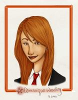 Dominique Weasley - Colour by charmontez