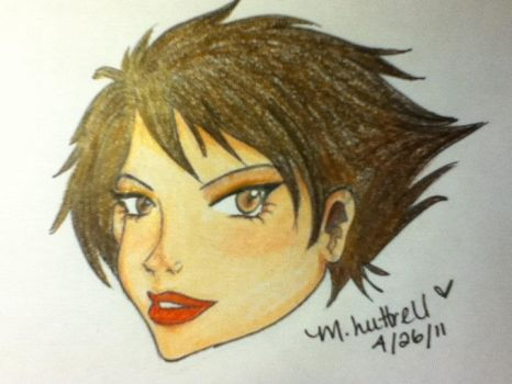 Untitled Headshot One by Raven-Circe-Lyidial