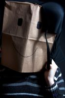Paper Bag Brad: Happy Time by bcdirector