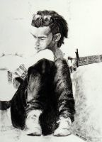 Matthew Healy from The 1975 by Davvanita