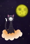 The cat of space by Geminitrix
