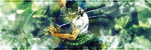 Roronoa Zoro Green by Kwbmm