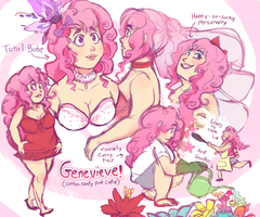 Commission: Genevieve! by Pheoniic