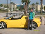 Me with a Ferrari by ZimTheHomicidal