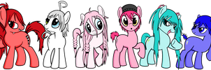 My Little Pony - Vocaloid style by bluexbabex1o7