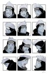 Kisame Facial Expressions by LPilz