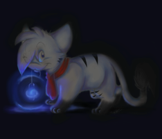It glows :pay it forward by VioletVampireVixen