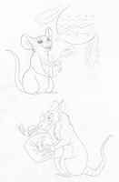 Naughty and Nice Mice by tymime