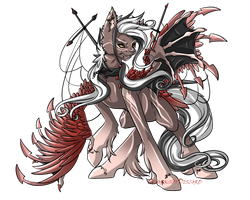 Rare Time Weaver Auction: Halloween Vampire CLOSED by SparksOfDiscord