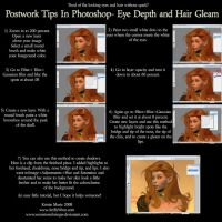 Tutorial: Eye Depth+Hair Gleam by WrenStormbringer