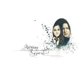Hermione and Severus Version 2 by AnbeliciousnA