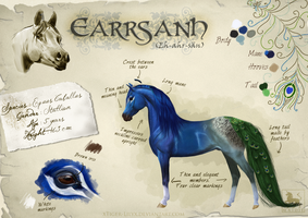 Earrsanh - Ref sheet by JulieBales