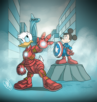 The Duck Avengers by Renny08
