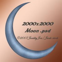 PSD Moon Stock by Junk-stock