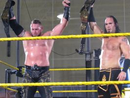NXT Tag Team Champions by Choleric-Codebreaker