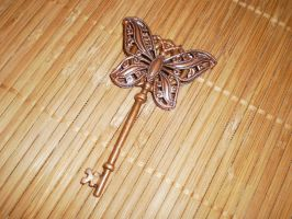 Steampunk Butterfly Key by Keslyn
