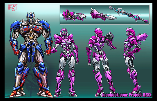 Transformers Loralyn Character Sheet by Th4rlDEAL