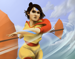 Jinora - Legend of Korra by RadecMai
