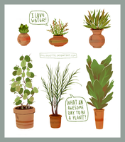 plants by felloliette