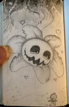 Undertale - Flowey by VacantWhale