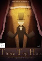 Three Top Hats Theatrical Poster by MichaelthePure