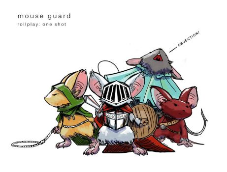 Mouse Guard by putridCheese