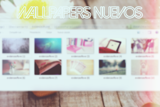 1O WALLPAPERS NUEVOS by evidenceoflove