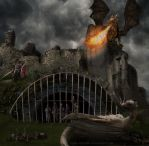 Rescue at Corfe Castle by inner-outsider