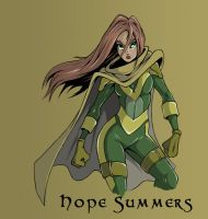 hope summers by UndeadComics