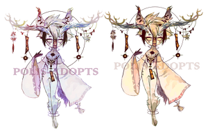 [CLOSED] adopts auction -Wind Chime Demon - rare by Polis-adopts