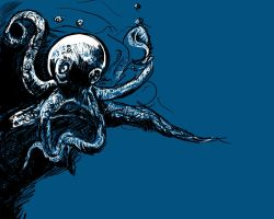 Octopus Blues by Eric--Draven