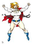 Power GIrl commission by Dogsupreme