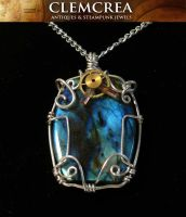 Pendant 'Andromeda' by clemcrea