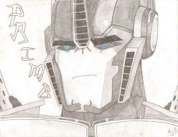 Optimus Prime TFP by MessyArtwok