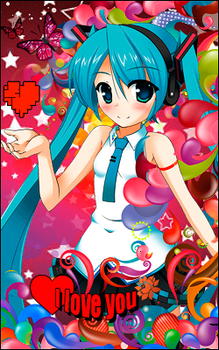 miku love by mariocent