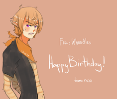 HBD Whoods by LochNesse