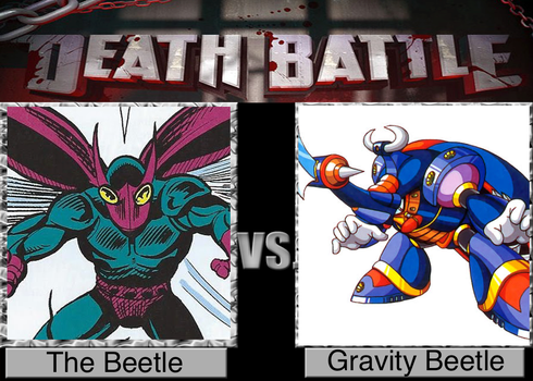 DB! The Beetle vs. Gravity Beetle by TheDeadlyRosered
