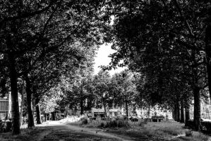 Some Black and White place by RaeymaekersP