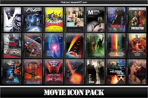 Movie Icon Pack 45 by FirstLine1
