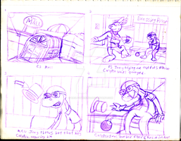 Malls To the Wall Storyboard by Blackn-Yellow