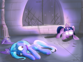 Twilight and Trixie Collab by Digital-Quill-Studio