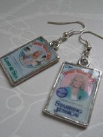 Sweet Valley High Earrings by frogmellaink