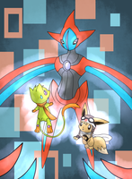 CE: Attack of the Deoxys by Chigle