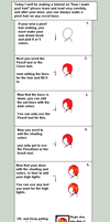 Tutorial pixel hair making1 by battleTbases