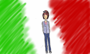 Fem!Italy wallpaper by craycrayqueen