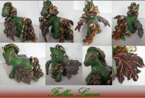My little Pony Custom Fallen Leaves by BerryMouse