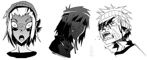 ol manga faces by lemon5ky