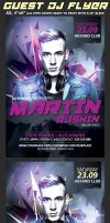 Guest Dj Party Flyer Template by Hotpindesigns