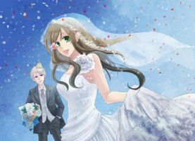 APH:ReaderxGilbert- Wedding Reception: Chapter One by ElectricMomo