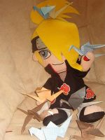 Deidara and his paper cranes by funny-cupcake5